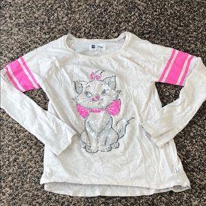 Disney gap girls Marie long sleeve tshirt
